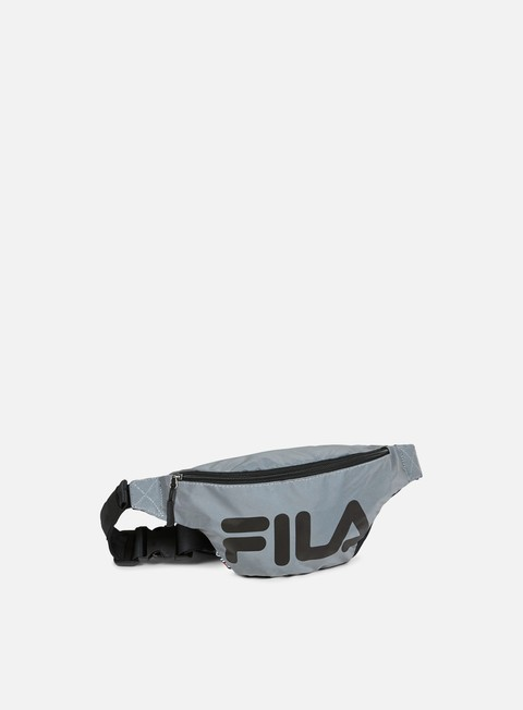 accessori fila waist bag silver