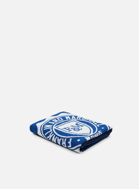 accessori franklin e marshall beachwear towel original blue