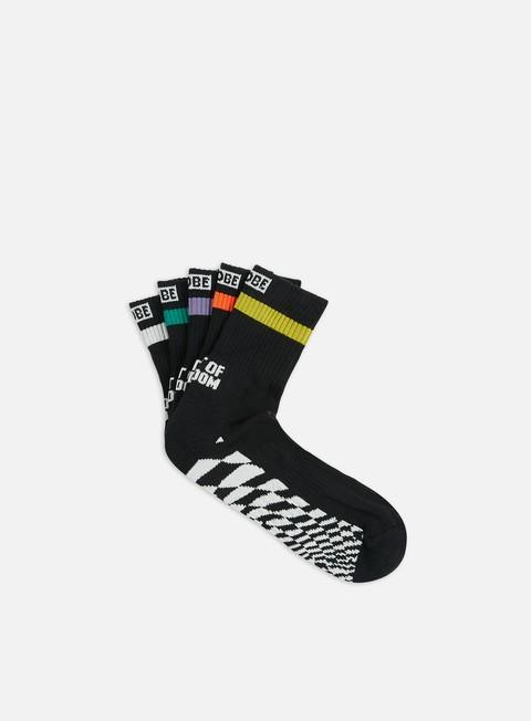 Calze Globe COF Crew Socks 5 Pack
