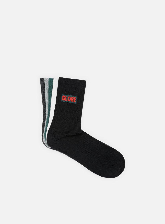 Globe Hilite Crew 5 Pack Socks