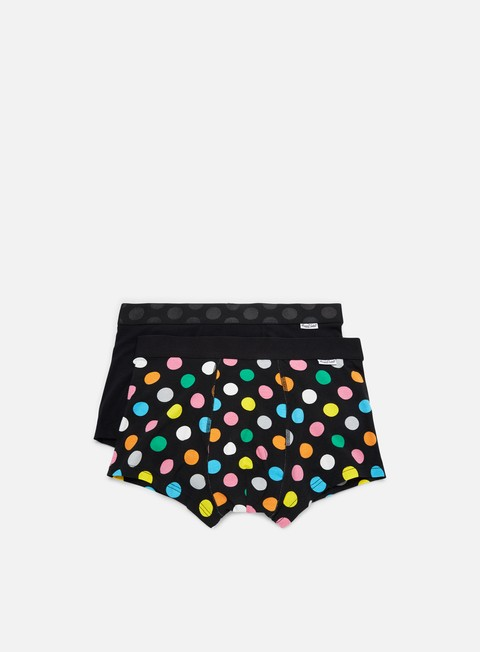 Outlet e Saldi Intimo Happy Socks 2-Pack Big Dot Trunk