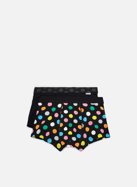 Happy Socks 2-Pack Big Dot Trunk