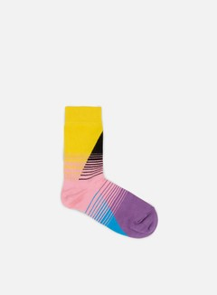 Happy Socks - 80s Fade, Yellow/Black/Pink 1