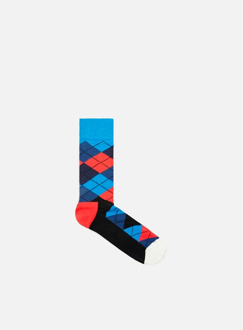 accessori happy socks argyle navy red blue