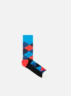 Happy Socks - Argyle, Navy/Red/Blue