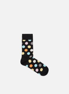 Happy Socks - Big Dot, Black/Multi