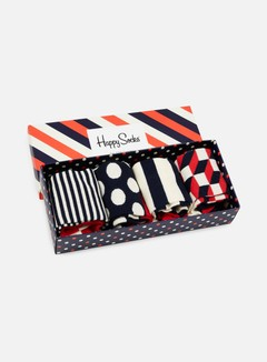 Happy Socks - Big Dot Gift Box, Assorted 6