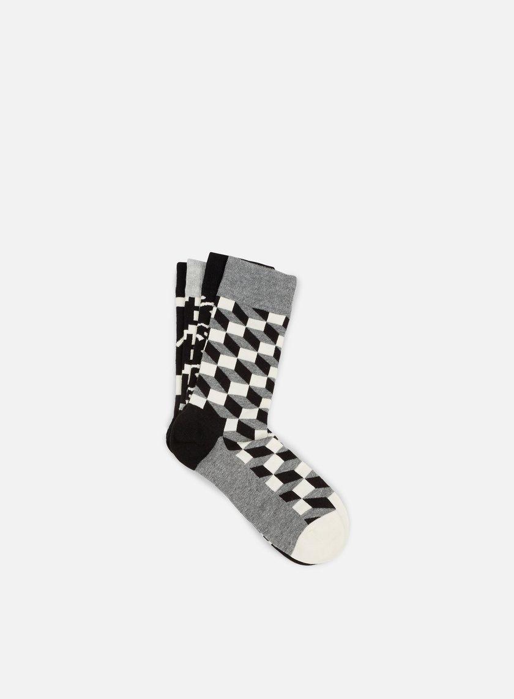 Happy Socks - Black White Gift Box, Assorted