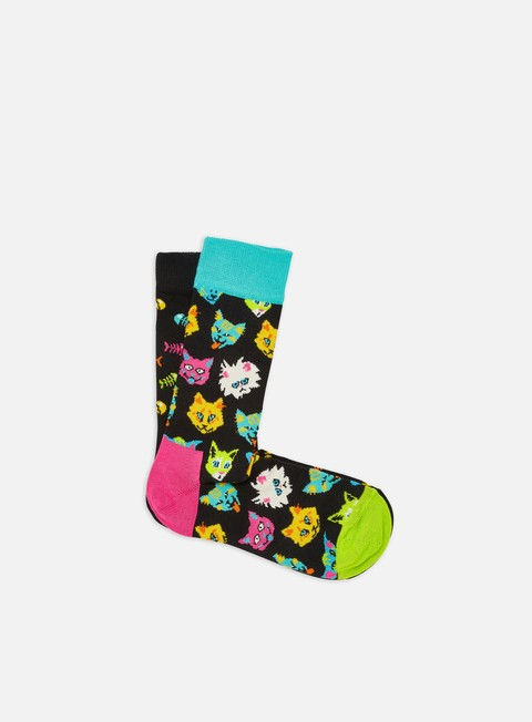 Calze Happy Socks Cat Lover 2 Pack Gift Box