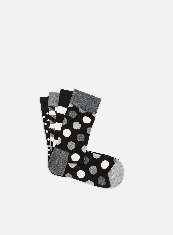 Happy Socks Classic Black & White Gift Box