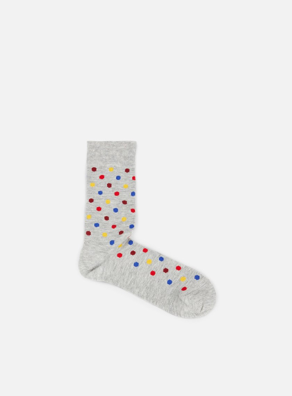 Happy Socks - Dot Essential, Grey/Multi