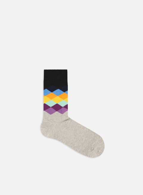 Outlet e Saldi Calze Happy Socks Faded Diamonds
