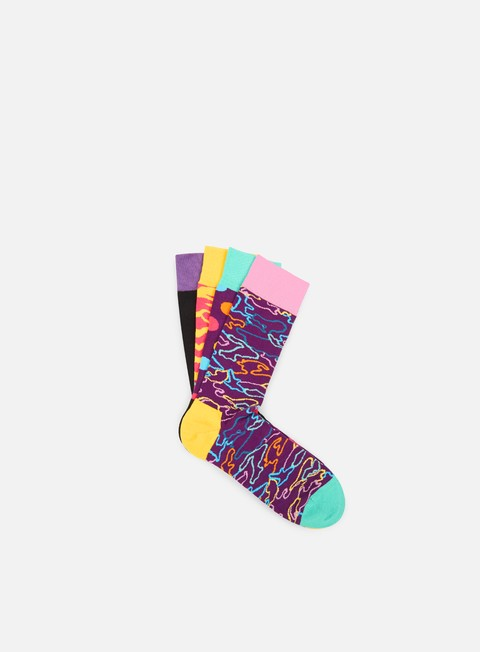 accessori happy socks gift pack electric camo multi