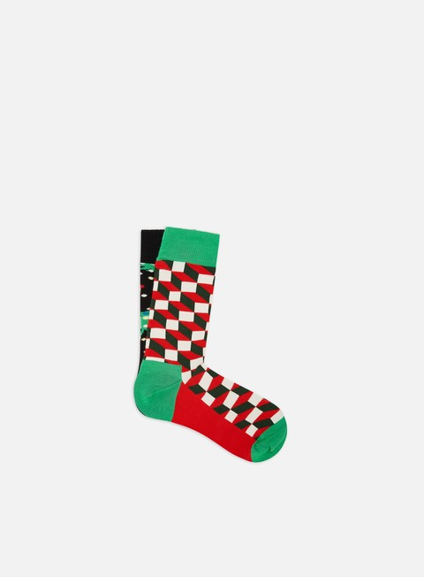Sale Outlet Socks Happy Socks Holiday 2 Pack Gift Box