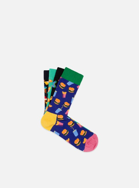 Outlet e Saldi Calze Happy Socks Junkfood Gift Box