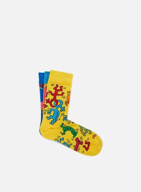 Outlet e Saldi Calze Happy Socks Keith Haring Box Set