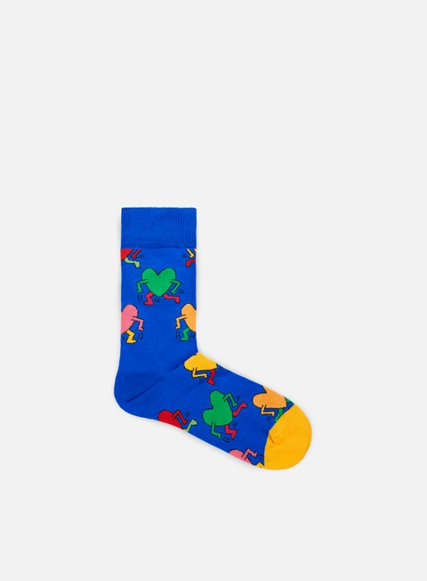 accessori happy socks keith haring running hearth blue
