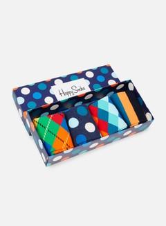 Happy Socks - Mix Gift Box, Assorted 6