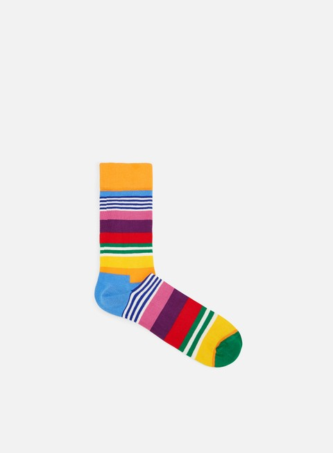 accessori happy socks multi stripe orange multi