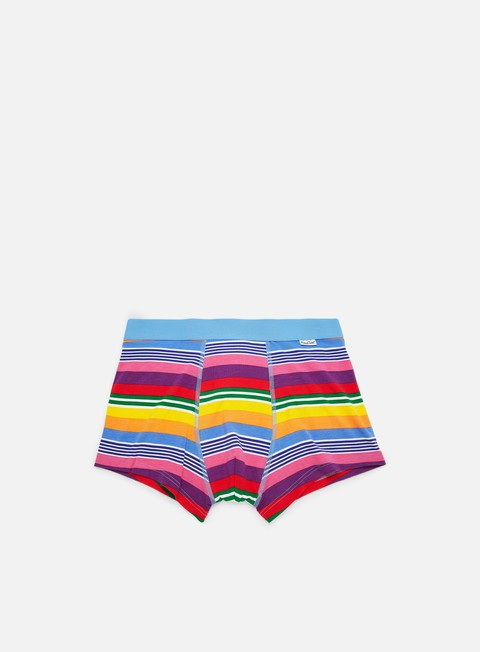 Sale Outlet Underwear Happy Socks Multi Stripe Trunk