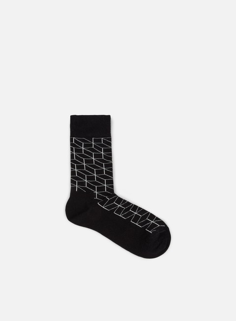 accessori happy socks optic black white
