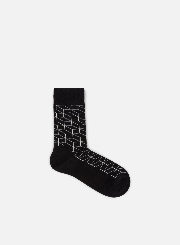 Happy Socks - Optic, Black/White