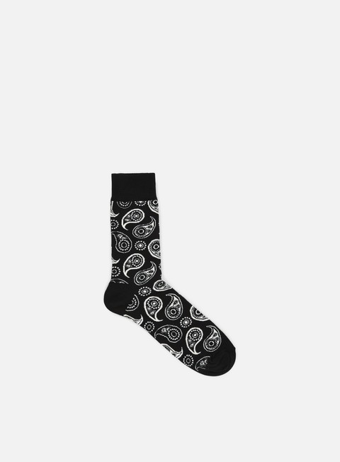 accessori happy socks paisley black