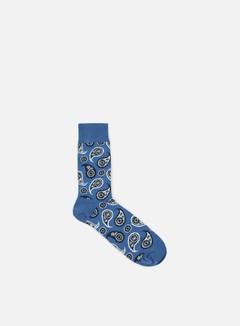 Happy Socks - Paisley, Navy 1