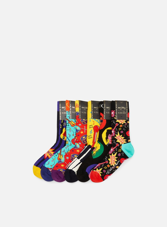 Happy Socks Queen 6 Pack Gift Box