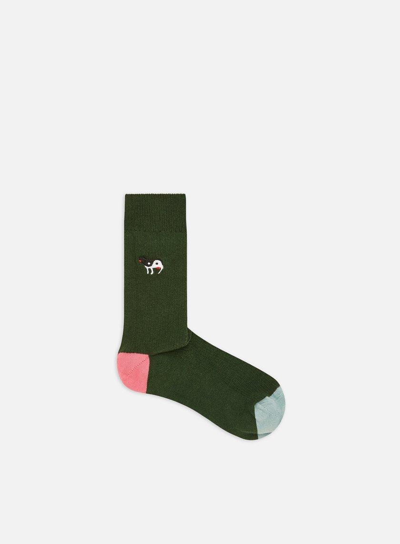 Happy Socks Ribb Embroidery Yin Yang Cow