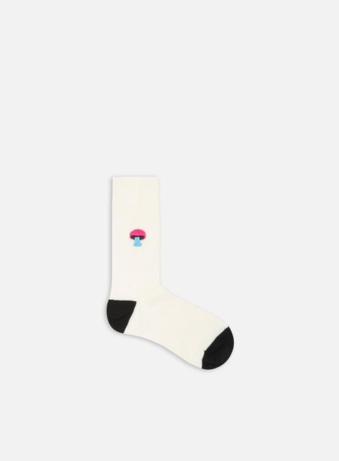 Calze Happy Socks Ribbed Embroidery Mushroom Socks