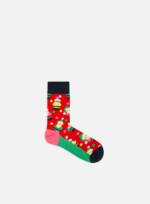 Outlet e Saldi Calze Happy Socks Santa 1 Pack Gift Box