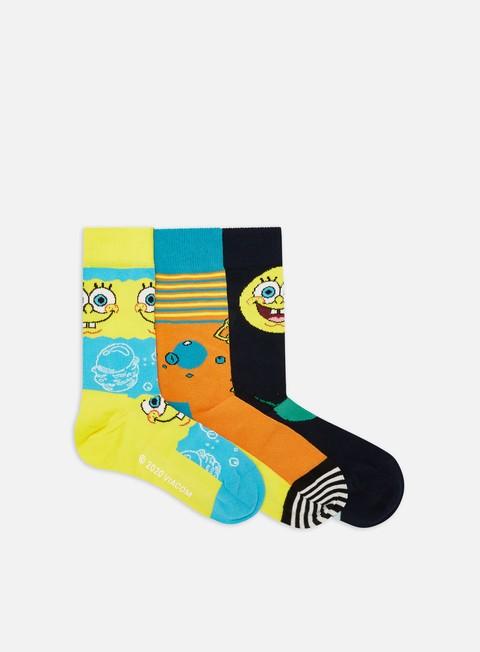 Calze Happy Socks Sponge Bob 3 Pack Gift Box