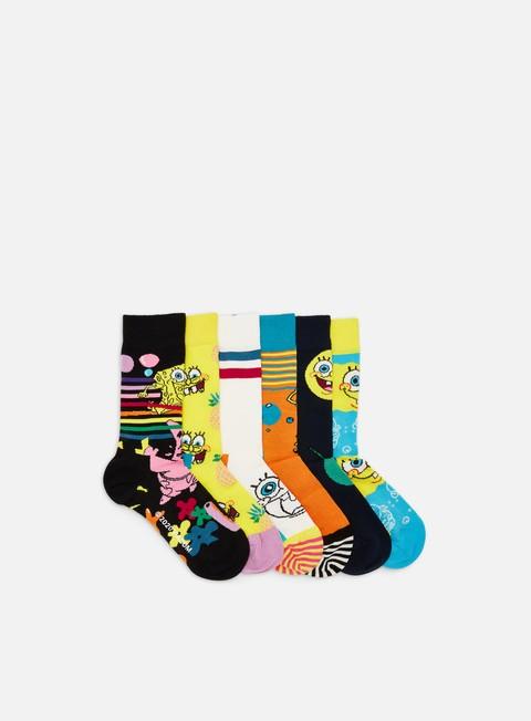 Socks Happy Socks Sponge Bob 6 Pack Gift Box
