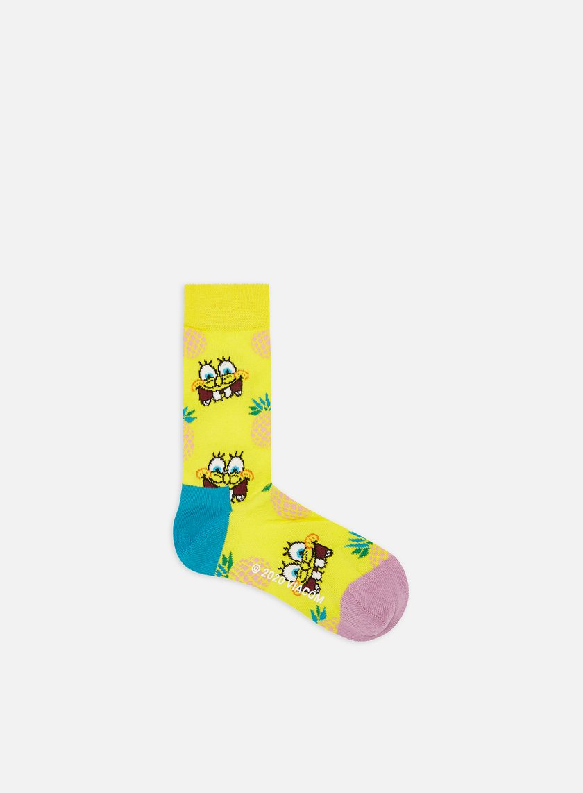 Happy Socks Sponge Bob Fineapple Surprise