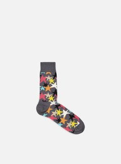 Happy Socks - Stars, Dark Grey/Multi 1