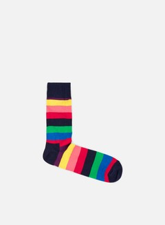 Happy Socks - Stripe, Navy/Multi