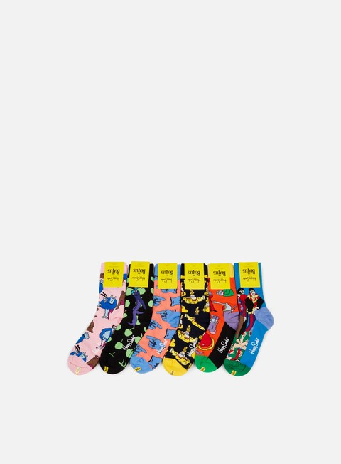 Outlet e Saldi Calze Happy Socks The Beatles Collector Box Set