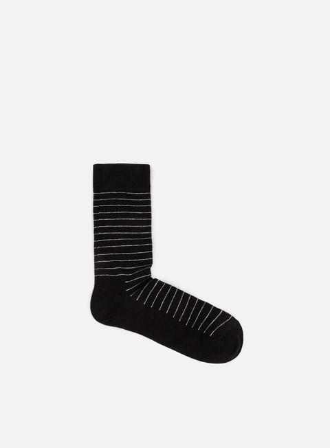 accessori happy socks thin stripe black white