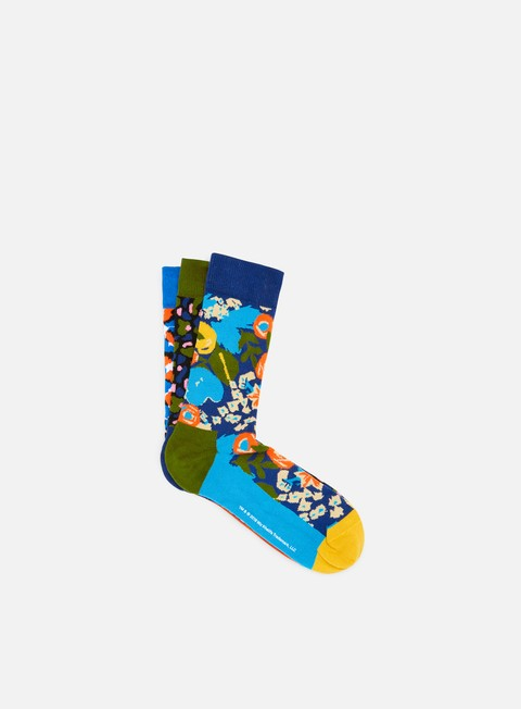 accessori happy socks wiz khalifa sock box set blue yellow pink red green
