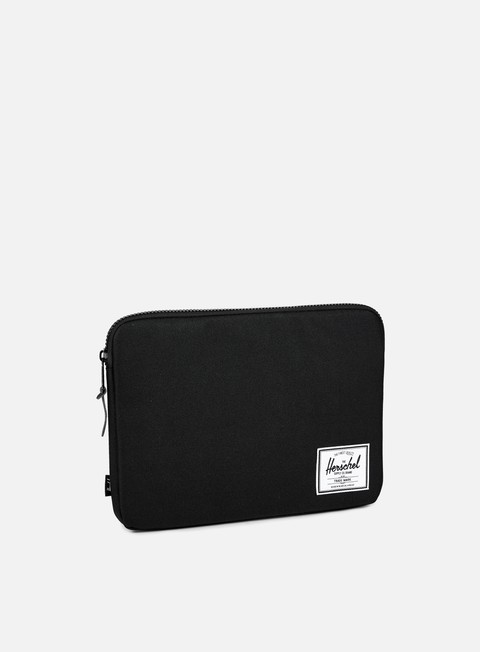 accessori herschel anchor sleeve macbook 13 black