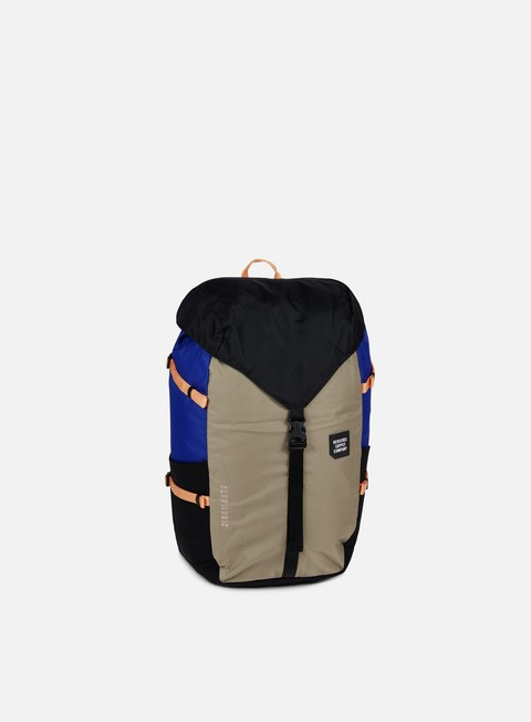 accessori herschel barlow large backpack trail black brindle