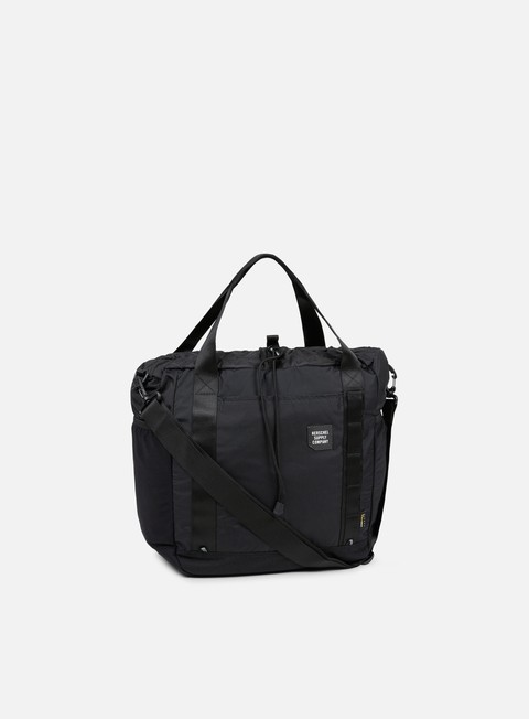 accessori herschel barnes trail tote black