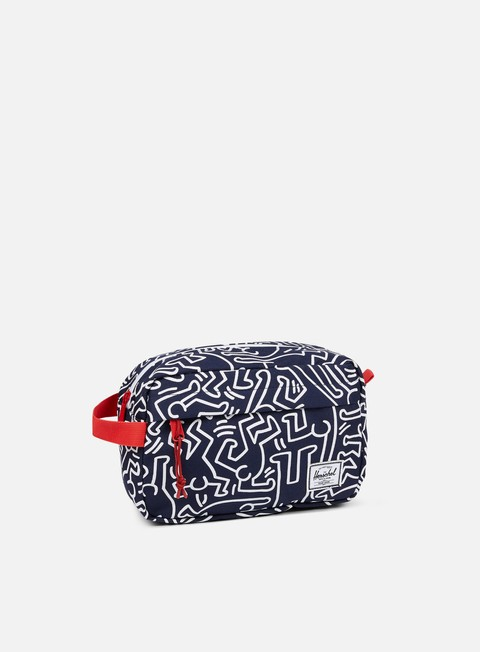 accessori herschel chapter keith haring travel peacot
