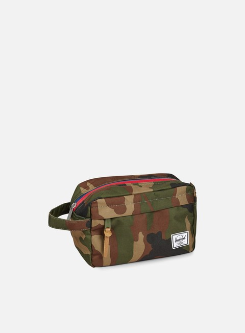 accessori herschel chapter travel kit classic woodland camo