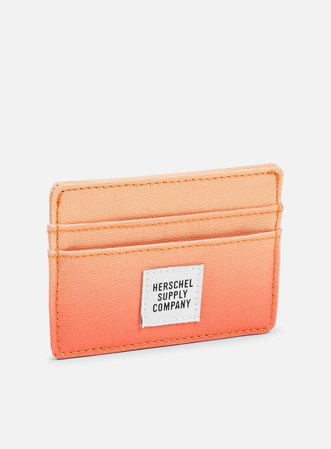 accessori herschel charlie card holder wallet gradient dusk