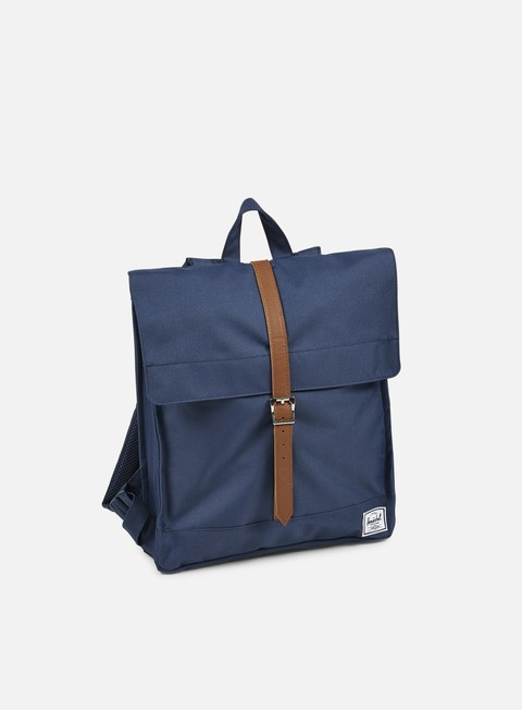 accessori herschel city mid volume backpack classic navy