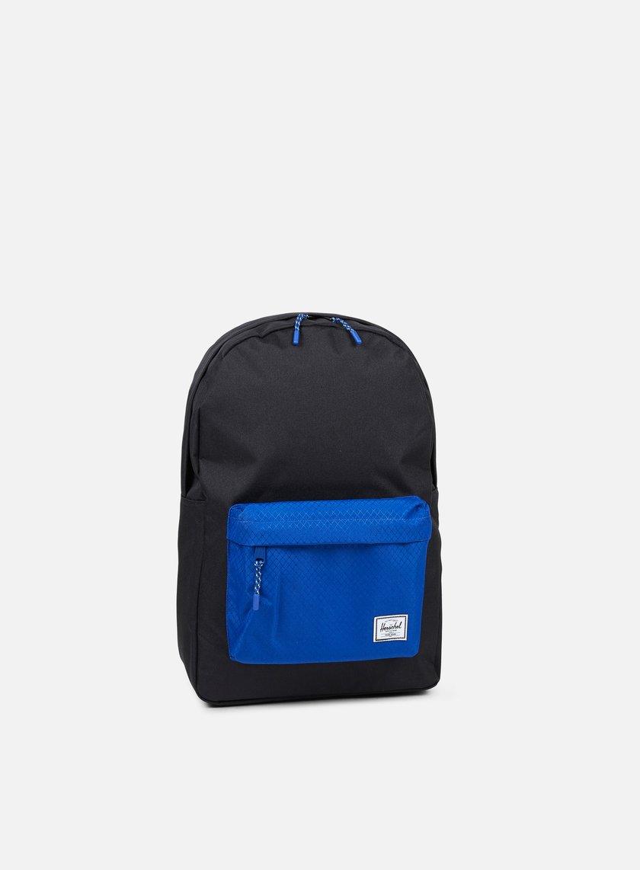Herschel - Classic Backpack Classic, Black/Surf The Web