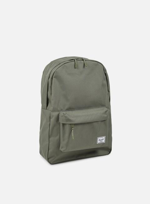 accessori herschel classic backpack classic deep lichen green