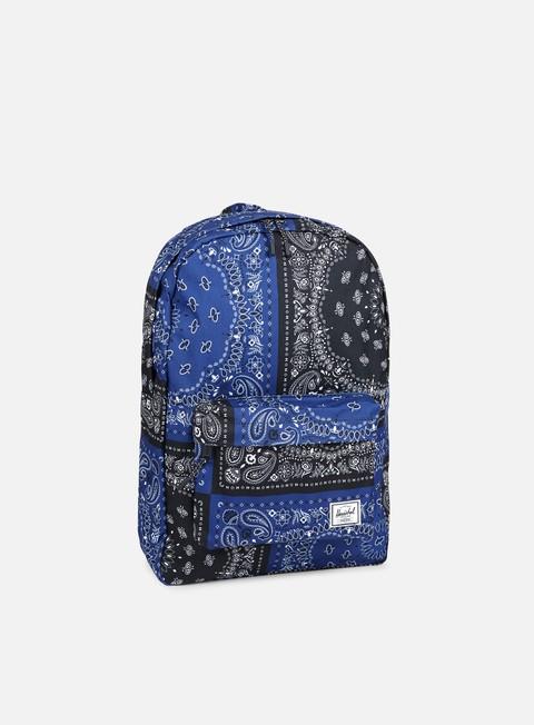 accessori herschel classic backpack classic navy bandana